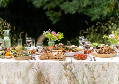Summer catering